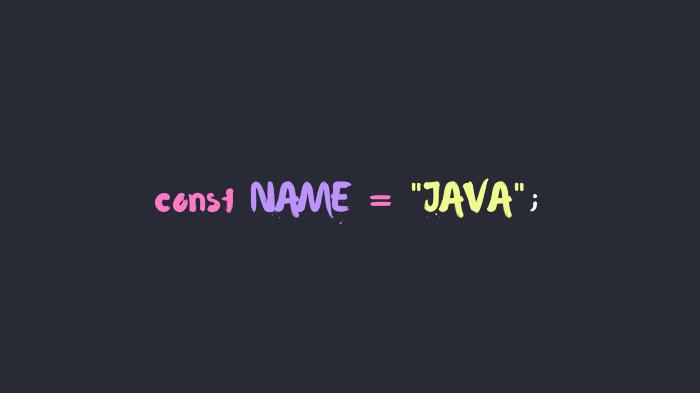 زبان های برنامه نویسی مورد علاقه شما چطور نامگذاری شدن