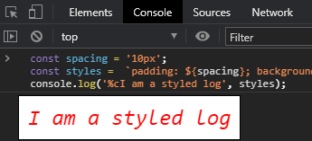 styled code